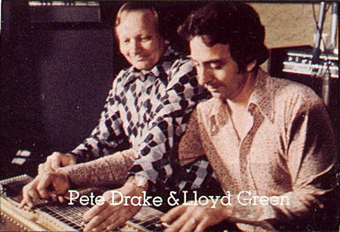 Pete Drake and Lloyd Green